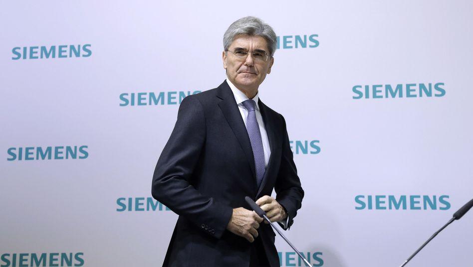 Als einer der wenigen deutschen CEOs kritisierte Siemens-Chef Joe Kaeser deutlich die AfD.