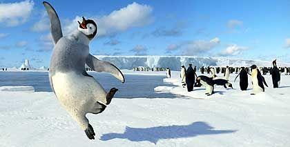 """Spielte 355 Millionen Dollar in die Kassen: Der Pinguin-Film """"Happy Feet"""""""