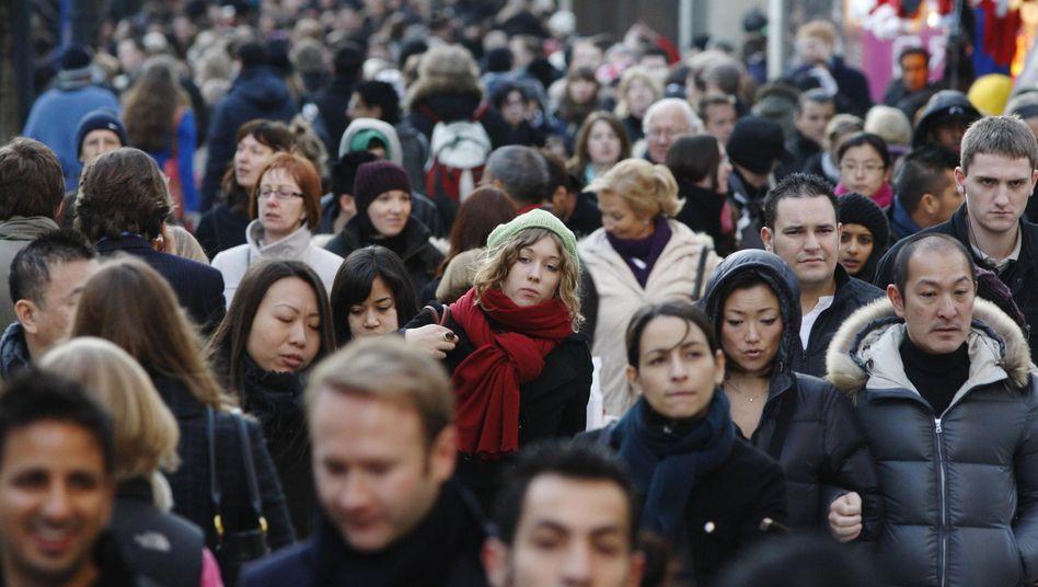 Menschenmengen: Einheitliches Denken bringt Unternehmen nicht voran