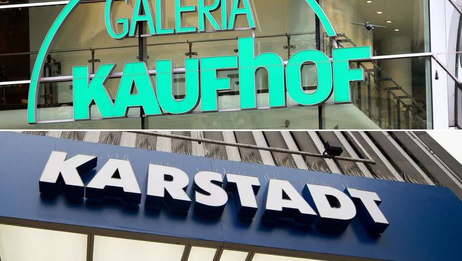 Bald unter einem Dach: Die deutschen Warenhaus-Konzerne Kaufhof und Karstadt.