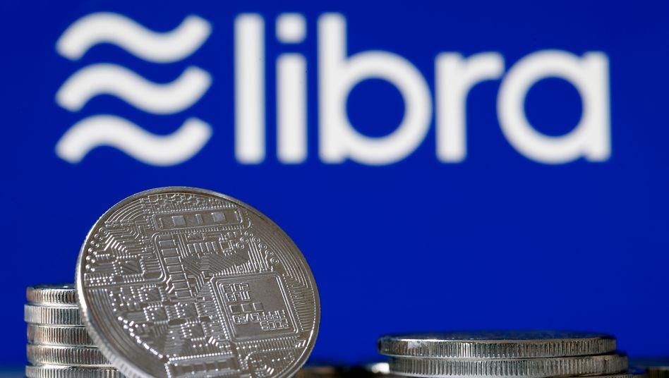 Geht es um Zahlungsmittel, greifen Ilustratoren immer wieder gern auf Münzen zurück - auch im Fall der geplanten Kryptowährung Libra von Facebook. Tatsächlich aber wird es diese Münzen nie geben