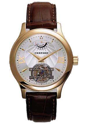 """Das """"L.U.C. Tourbillon"""" aus Karl-Friedrich Scheufeles Schweizer Familienunternehmen Chopard gilt als anspruchsvollstes Uhrenmodell des Schmuckhauses."""