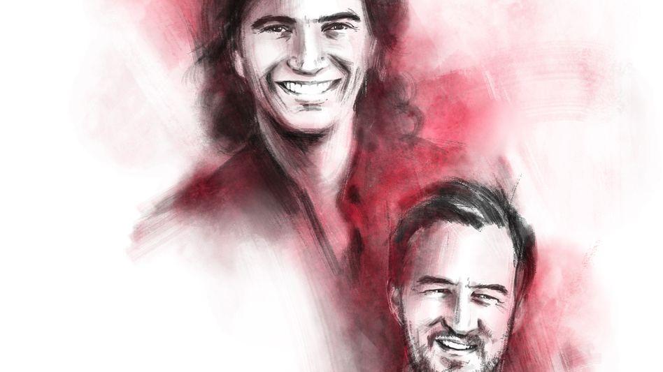 Coworkers-Gründer Adam Neumann (oben) und Miguel McKelvey