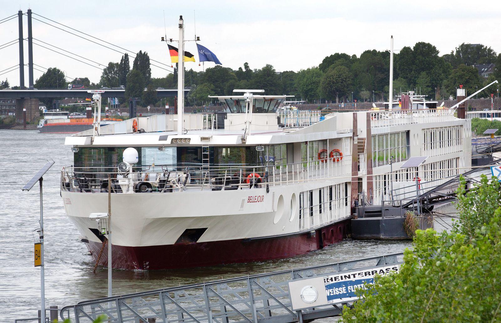 Düsseldorf nutzt Hotelschiff als Quarantäne-Station
