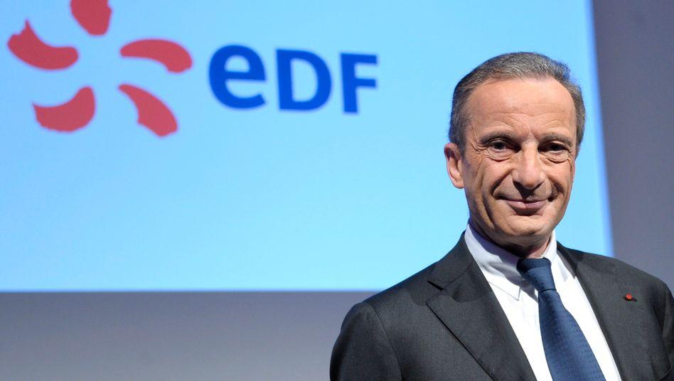 Gruß aus Frankreich: EDF-Chef Henri Proglio zählt die deutschen Versorger an