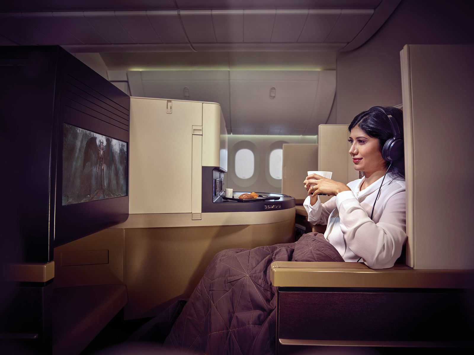 Business Class Flugprodukte / Etihad Airways - Business Studio