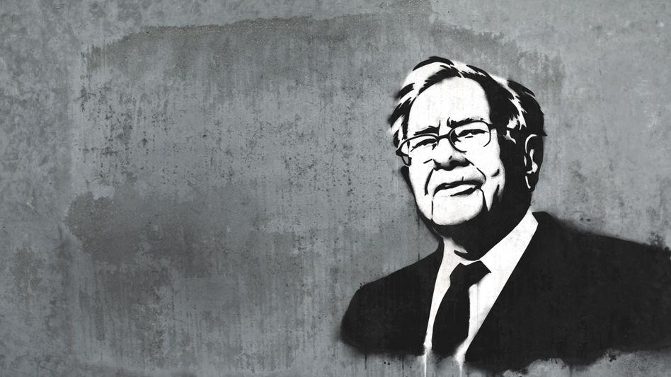 Big in Bad Godesberg: Einer der erfolgreichsten Schüler von Investor Warren Buffett (Illustration) ist der Rheinländer Norman Rentrop, bei dem 229 andere Familienunternehmer langfristig das Vermögen anlegen