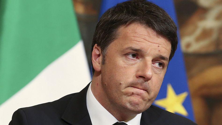 In den Sternen: Italiens Premier Matteo Renzi