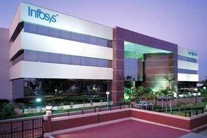Eine Milliarde Dollar Umsatz: Infosys-Zentrale in Bangalore