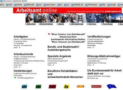 Arbeitsamt Online: Ausbau auf 2008 verschoben