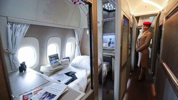 Emirates, Etihad, Qatar: So luxuriös fliegt man mit den Golf-Airlines