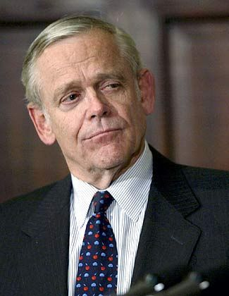 SEC-Chef William Donaldson sorgt sich um die Sicherheit der Investoren
