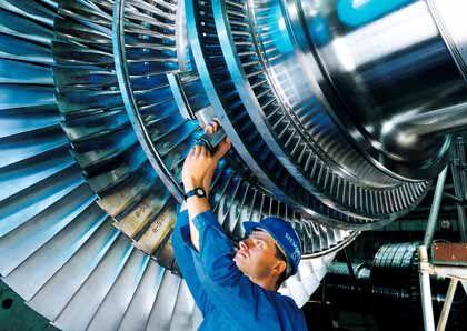 Kraftwerksturbine: Hier wirkt Cleantech