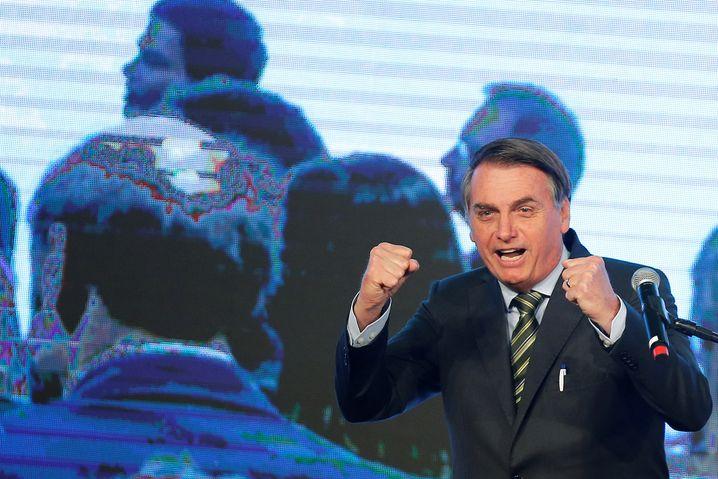 """""""Kolonialistische Denkweise"""": Brasiliens Präsident Jair Bolsonaro"""