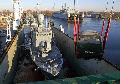 Schnellboot der Bundeswehr: Vier Kriegsschiffe für Südafrika