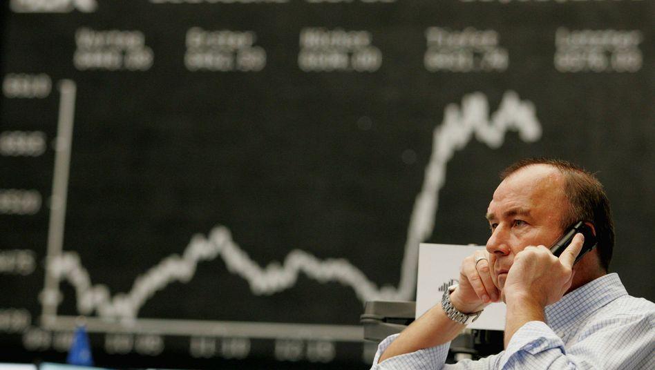 Börse in Frankfurt: Erholung am Nachmittag