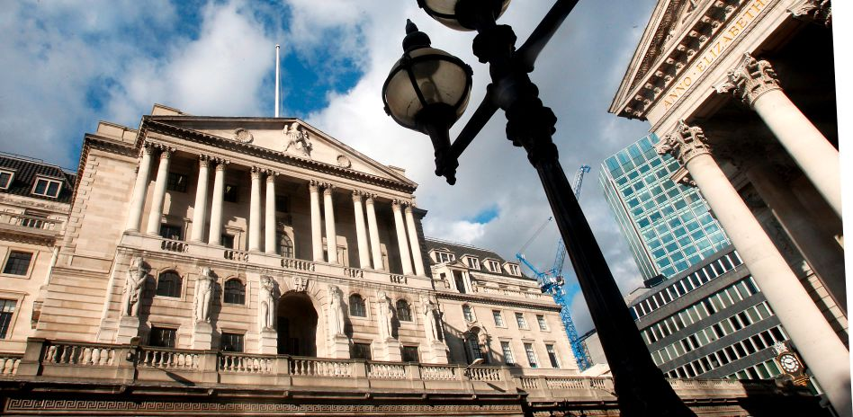 """Bank of England in London: Projekt """"Bookend"""""""