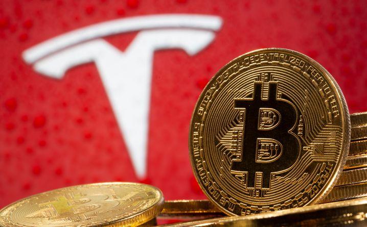 Toxische Mischung: Tesla und Konzernchef Elon Musk lenken viel Aufmerksamkeit auf den Bitcoin - und vermutlich auch viele Investments von Fans in die Kryptowährung