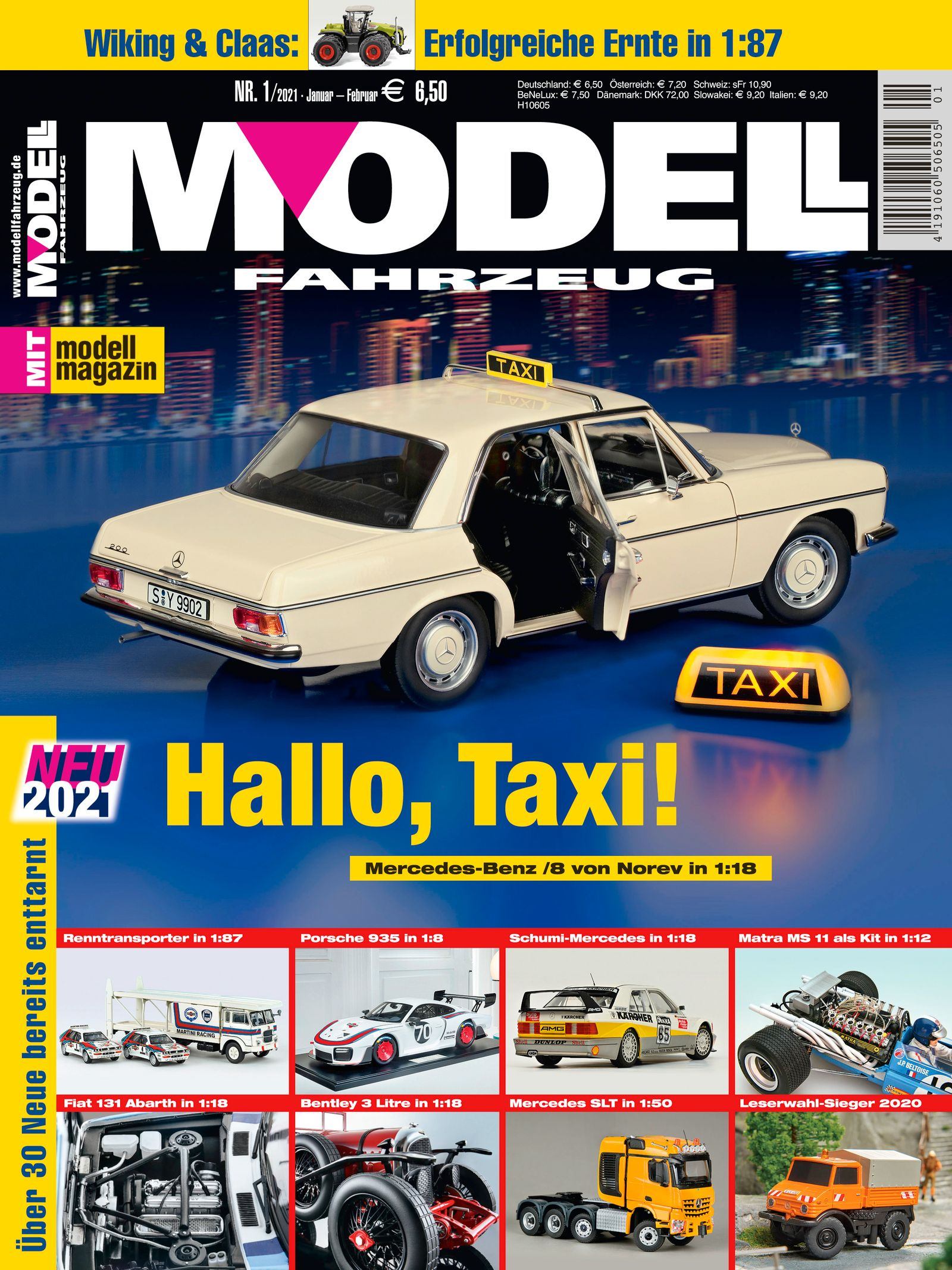 Cover MODELL FAHRZEUG Ausgabe 1_2021
