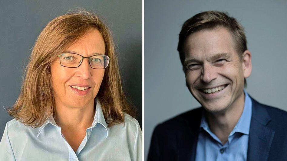 Annette Danielski, Christian Levin übernehmen jetzt bei der VW-Lastwagentochter Traton