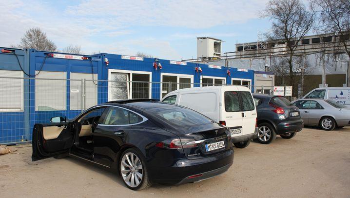 E-Gas statt Strom: Besuch auf Audis Geheimbaustelle in der Provinz