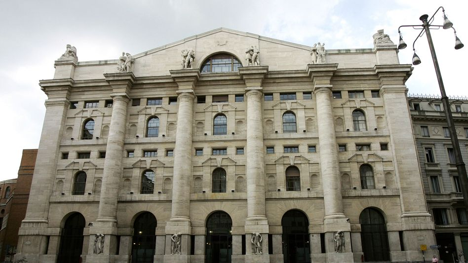 Borsa Italiana in Mailand