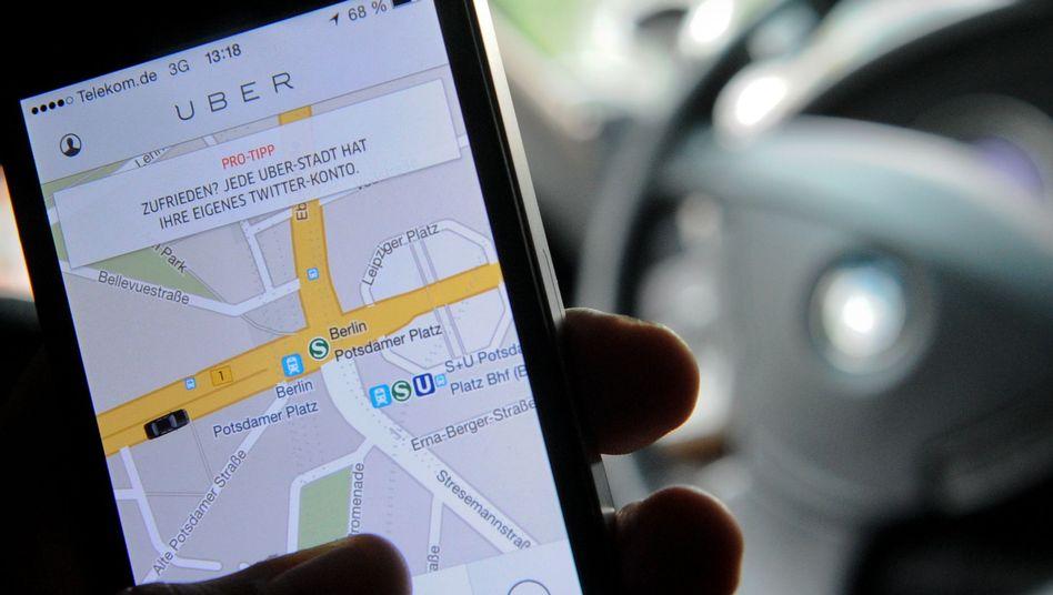 """Fahrdienstvermittler """"Uber"""" will mit Konkurrenten Careem Nahost-Geschäft ausbauen"""
