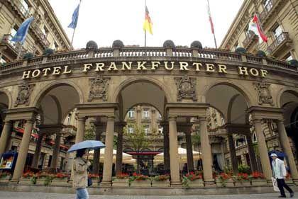 """Gehört zur Steigenberger Gruppe: Das Hotel """"Frankfurter Hof"""""""