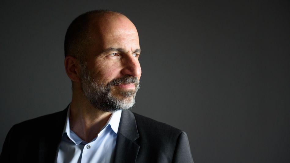 Mission verfehlt: CEO Dara Khosrowshahi hat Uber vor der Implosion gerettet. Doch inzwischen ist auch klar: Uber wird kein neues Google oder Amazon
