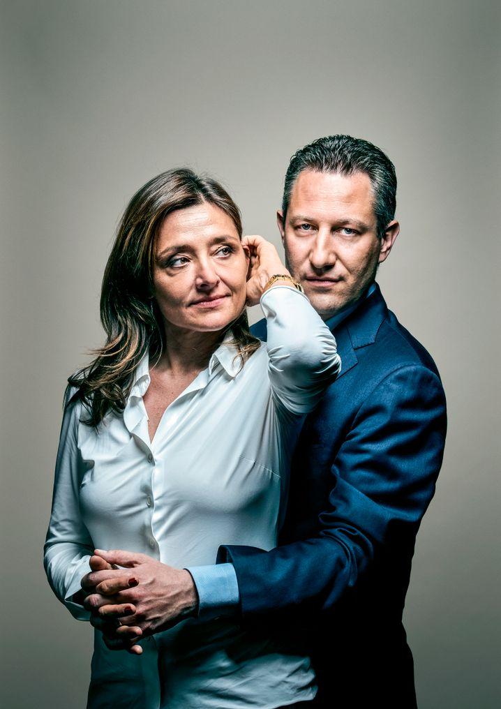 Legenden der Uhrenwelt: Livia Russo und ihr Ehe- und Geschäftspartner Aurel Bacs.