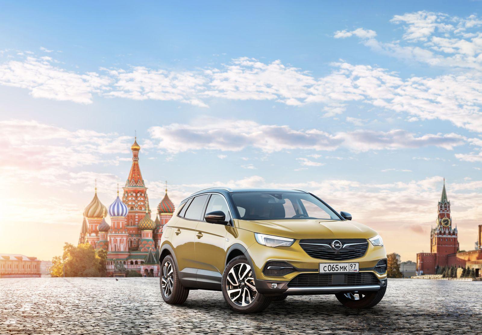 Opel Russland / Grandland X