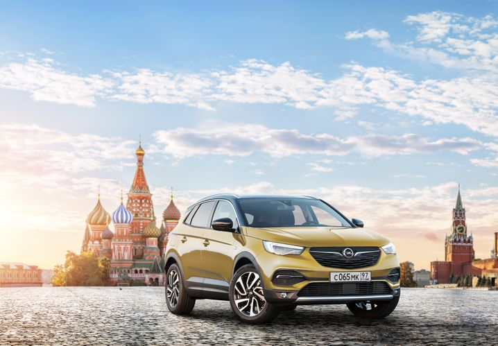 In den größten Städten Russlands (hier eine Animation aus Moskau) will Opel gut drei Jahre nach seinem Rückzug wieder Autos verkaufen und ein eigenen Vertriebsnetz aufziehen
