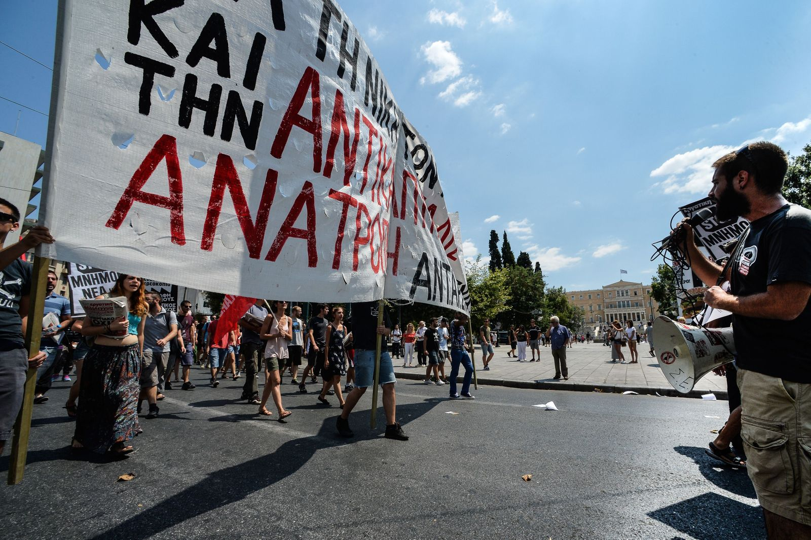 Griechenland/ Abstimmung/ Hilfspaket