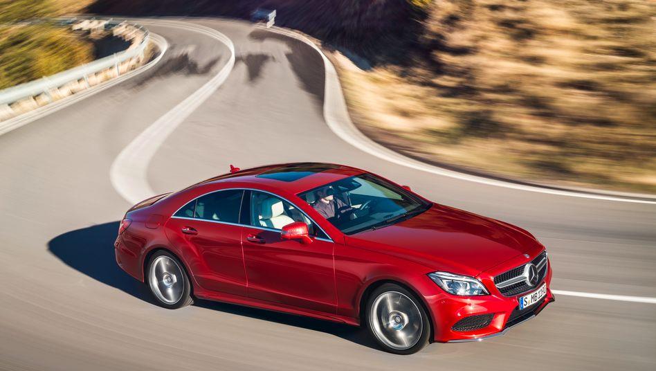 Mercedes CLS: Derzeit hat Daimler die höchste Gewinnmarge aller großen Autohersteller weltweit