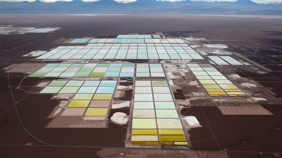 Lithiummine von SQM in Chile: Chinas Tianqi zahlte 4,1 Milliarden Dollar für einen 24-Prozent-Anteil an SQM