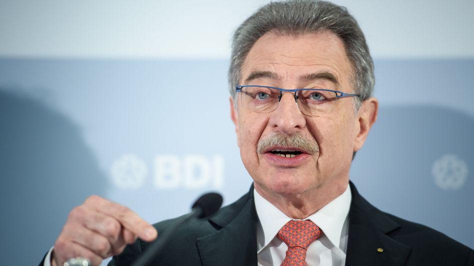 Dieter Kempf: Präsident des Bundesverbandes der Deutschen Industrie (BDI)