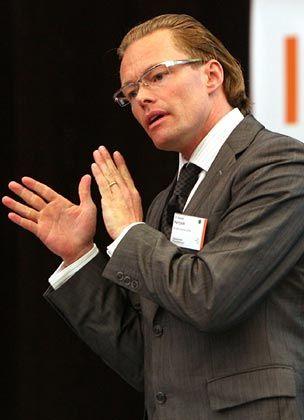 """Sigvald Harryson ist Direktor des Programms """"Wachstum durch Innovation"""" an der Baltic Business School der Uni Kalmar in Schweden"""