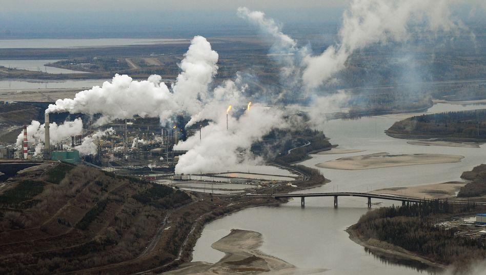 Ölsand-Vorkommen in Kanada: Die Rohstoffe des nordamerikanischen Landes wecken Begehrlichkeiten in Fernost
