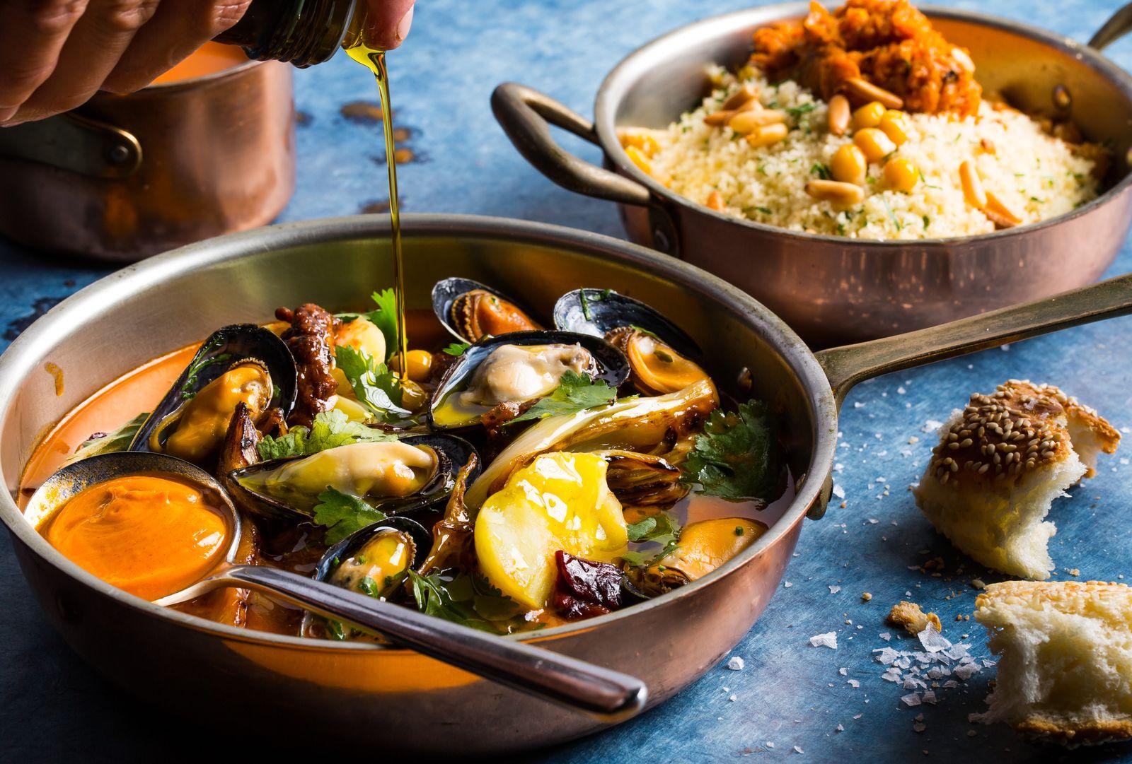 Seafood Chraime / Layla by Meir Adoni / Berlin