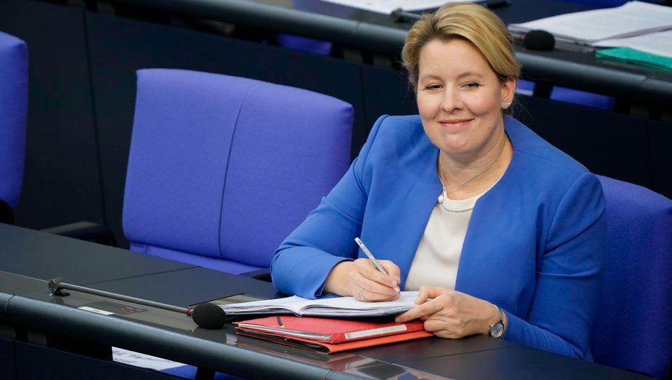 Freut sich: Frauenministerin Franziska Giffey