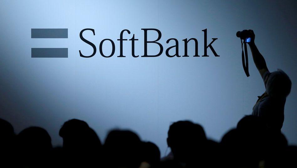Firmenmesse von Softbank in Tokio
