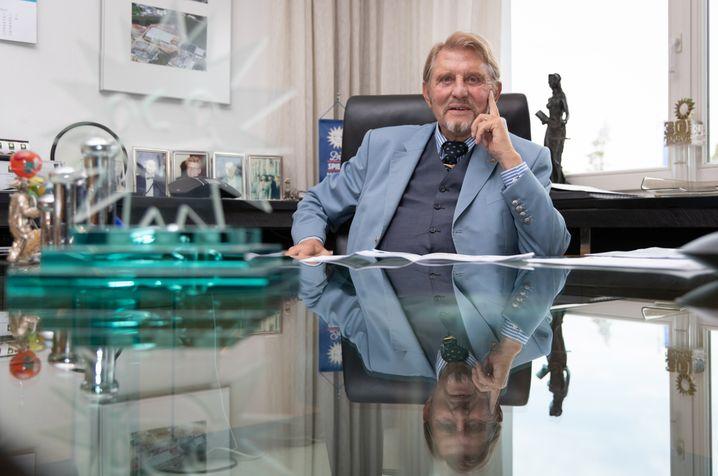 Spielhallenlegende: Paul Gauselmann gründete 1957 die Gauselmann-Gruppe, heute Marktführer im Spielhallengeschäft