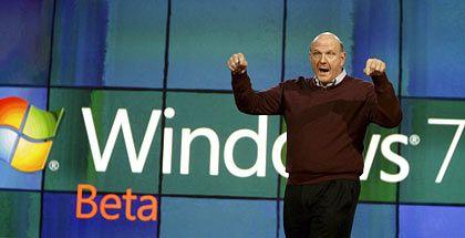 Microsoft-Chef Steve Ballmer: Es geht abwärts
