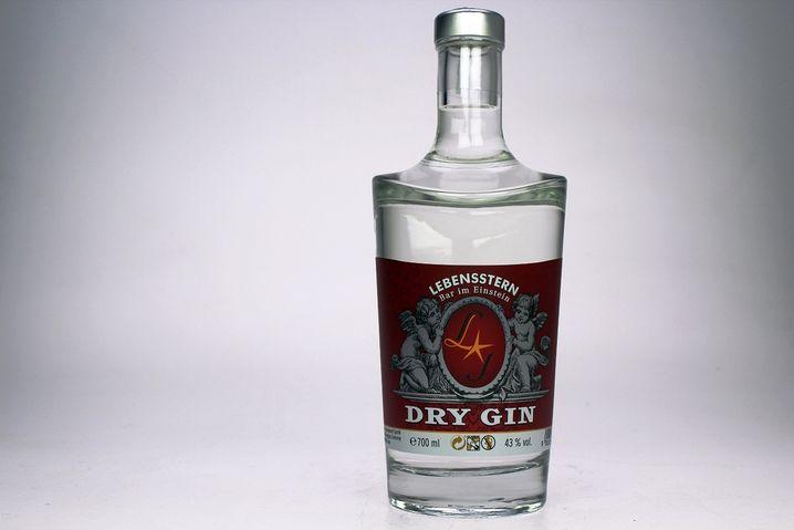 """Aus dem Gin-Kompetenzzentrum: """"Lebensstern"""" der gleichnamigen Bar"""