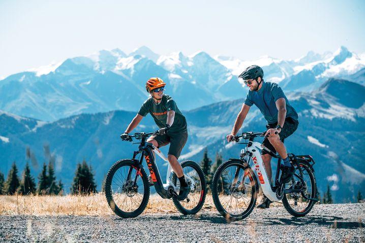 Mountainbike: Elektrobikes am Berg immer beliebter