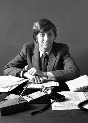 Das war noch vor Windows: Bill Gates in den siebziger Jahren