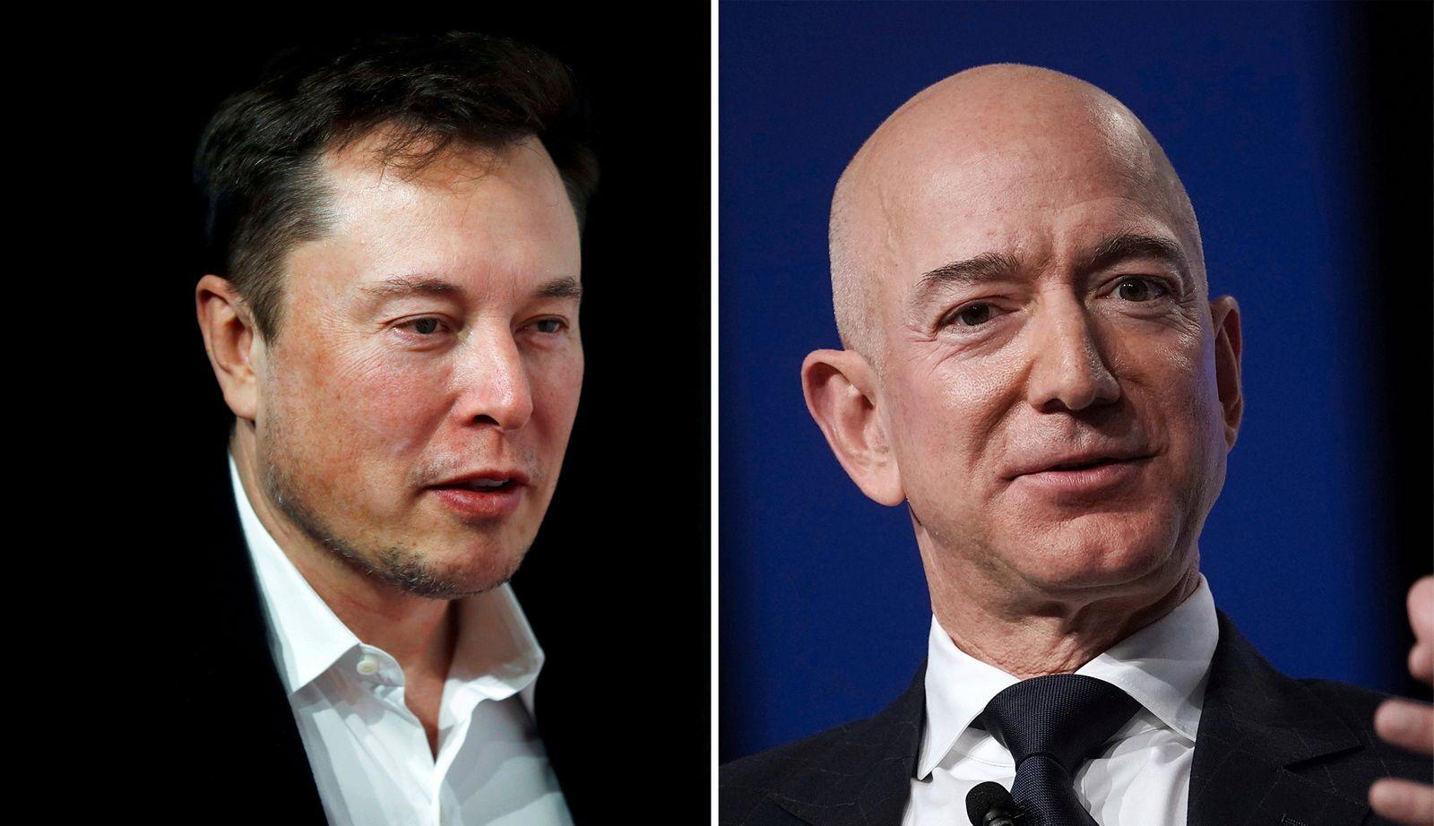 KOMBO Elon Musk / Jeff Bezos