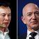 Die unendliche Fehde zwischen Elon Musk und Jeff Bezos