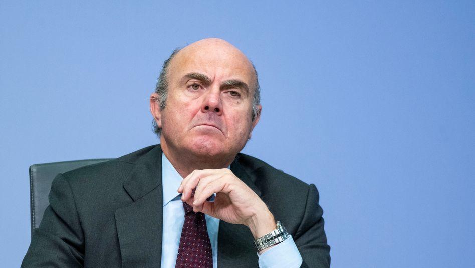 Fürchtet Verwundbarkeit von Unternehmen: EZB-Vizepräsident Luis de Guindos