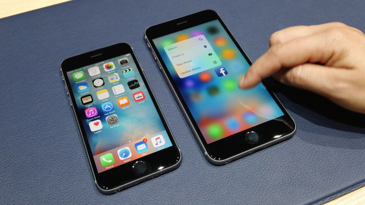 Apple iPhone 6s / iPad Pro Hands-on/ 5 3D Touch